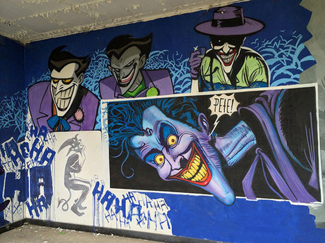 Amazing Batman Graffiti Art Found in an Abandoned Building in Belgium | World of Street & Outdoor Arts | Scoop.it