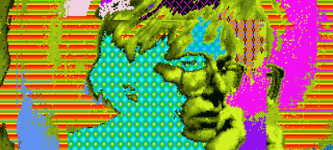 Andy Warhol's Lost Amiga Computer Art Rediscovered 30 Years On | art + tech | Scoop.it