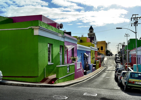 Exploring the Colorful Bo Kaap Neighborhood in Cape Town | Machinimania | Scoop.it