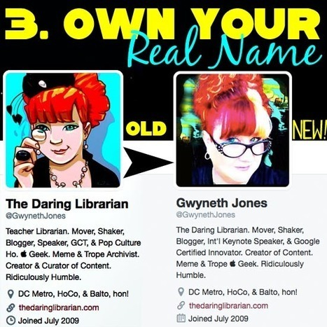 The Daring Librarian: 6 Tips to a Super Twitter Profile | למידה במאה ה-21 | Scoop.it