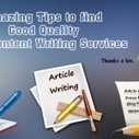 Amazing Tips to find Good Quality SEO Content Writing Services | IT | Scoop.it