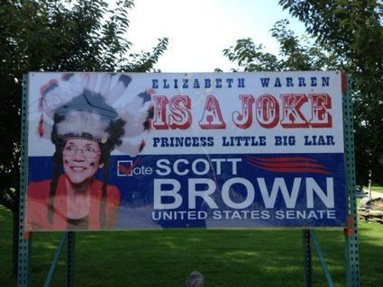 """This is a New Low in race-baiting: """"Princess Little Big Liar"""" ? Racism. Misogyny.   Massachusetts Senate Race 2012   Scoop.it"""