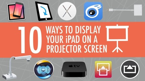 10 Ways to Show Your iPad on a Projector Screen | Educational technology , Erate, Broadband and Connectivity | Scoop.it