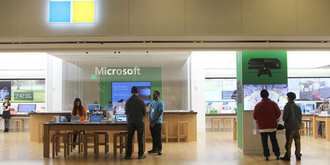 Microsoft now has more than 100 Apple Store clones, but no customers   iPhone Marketing   Scoop.it