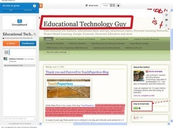 Educational Technology Guy: Conceptboard - visual collaboration ... | Education 2.0 and Beyond | Scoop.it