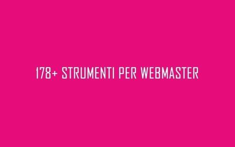 178+ Strumenti per i Webmaster, molti SEO Tools, ma non solo... | SEO | Scoop.it