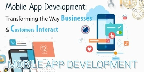 Mobile App Development Enabling Businesses to Stay Connected with Customers On The Go | iphone apps development melbourne | Scoop.it