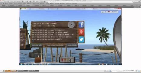 Virtlantis in Second Life - YouTube | Mundos Virtuales, Educacion Conectada y Aprendizaje de Lenguas | Scoop.it
