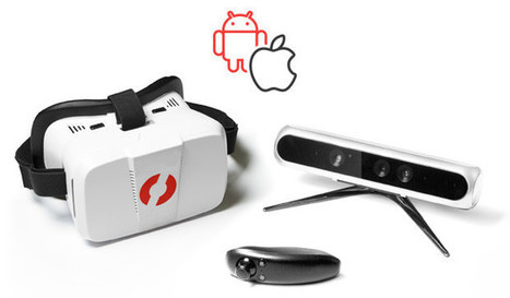 VicoVR is a Wireless 19-Point Full-Motion Tracker for Virtual Reality Working with Android and iOS (Crowdfunding) | Embedded Systems News | Scoop.it
