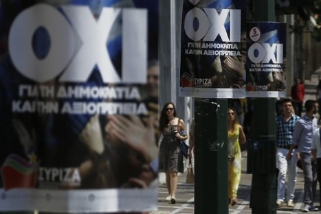 Greece: Only the 'No' Can Save the Euro | Peer2Politics | Scoop.it
