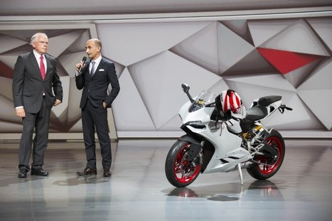 899 Panigale Revealed! | Ductalk Ducati News | Scoop.it