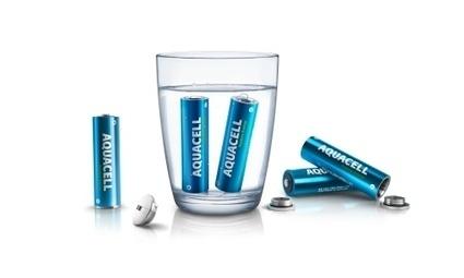 AquaCell: une pile écologique qui se recharge à l'eau, en cinq minutes | Développement durable | Scoop.it