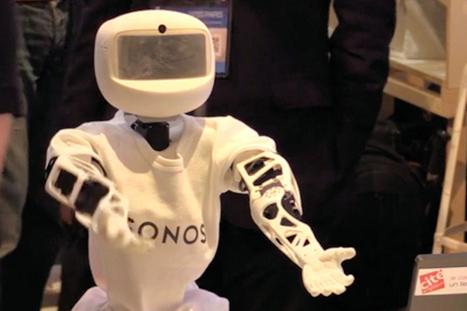 Un robot à 7500 € qui maintient les personnes âgées en interaction - La Revue du Digital | Le vieillissement | Scoop.it
