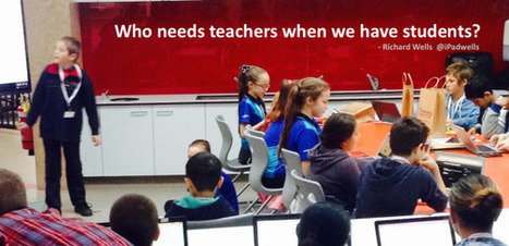 Who needs teachers when you have students?   Using Technology to Transform Learning   Scoop.it