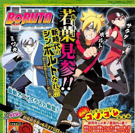Desvelados nuevos diseños de personajes de Boruto | Noticias Anime [es] | Scoop.it