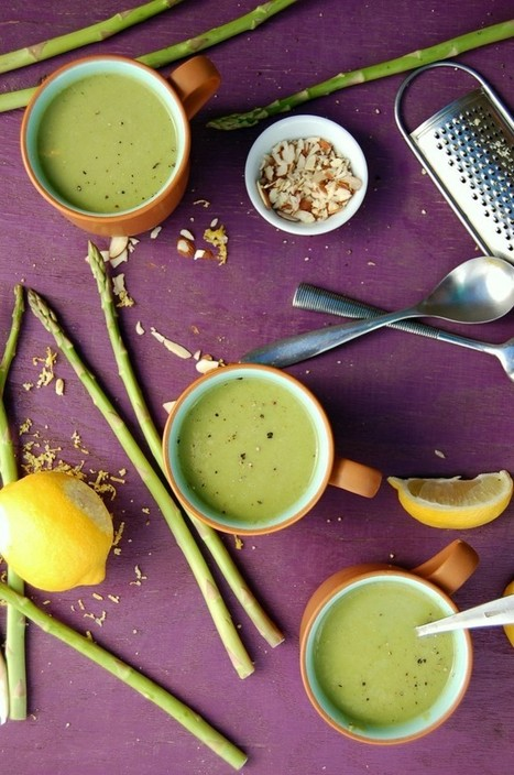 How I Got Over My Fear of Public Speaking + Creamy Leek Asparagus Soup - Clean Food Dirty Girl | The Basic Life | Scoop.it