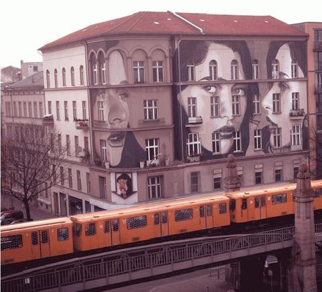 Streetart: Rone New Mural in Berlin // Germany   Illustrations   Scoop.it