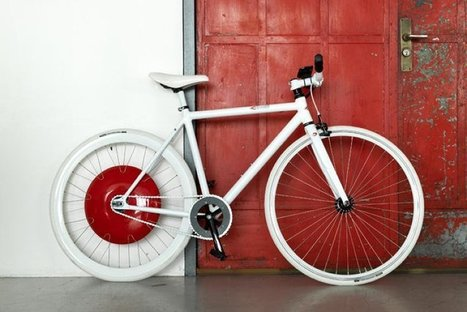 Cycling News:  New Copenhagen Wheel Makes any Bike Electric | Electric Vehicles | Scoop.it