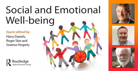 Social and emotional well-being | Explore Taylor & Francis Online | Beyond the Stacks | Scoop.it