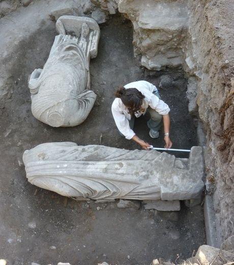 Turquie : découvertes de deux statues sans tête datant de l'Antiquité   Histoire et Archéologie   Scoop.it