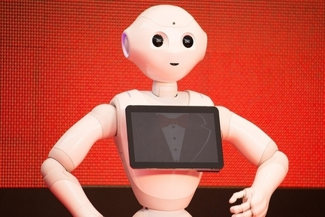 """Humanoid Robot """"Pepper"""" Admitted to High School in Fukushima 