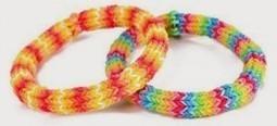 Las pulseras de goma Rainbow Loom y similares. Toda una moda - alsalirdelcole | Noticias - ASDC | Scoop.it