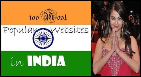 100 most popular websites in India   TechShali   Scoop.it