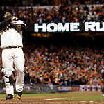 Photos: Pablo Sandoval hits three home runs in World Series game 1 | Sports Photography | Scoop.it