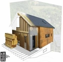 Maison Bois BBC, le système Blokiwood à un coût moyen de 1300 € / m2 | Rénovation énergétique  rt 2012 | Scoop.it