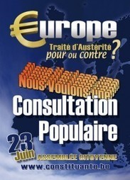 Belgique : pourquoi une consultation populaire ?   Le Buvard   Scoop.it
