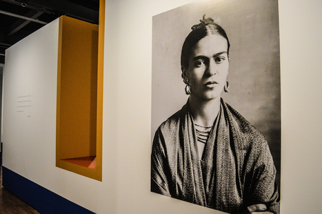 Traveling Frida Kahlo Photography Exhibit Opens at MOLAA   Arts Camp   Scoop.it