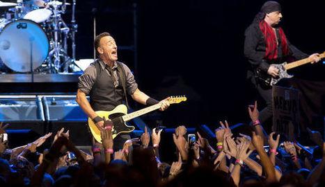 Bruce Springsteen rend hommage à Mandela en Afrique du Sud - l'Express   Bruce Springsteen   Scoop.it