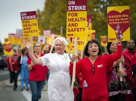 Nurses strike is part of larger labor push | News & Trends: California Employment Law | Scoop.it
