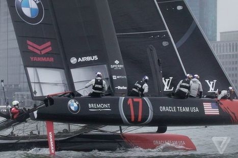 The yachts of America's Cup are faster and weirder than ever | e.cloud | Scoop.it