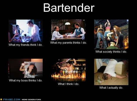 Bartender | What I really do | Scoop.it