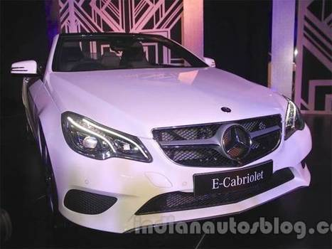 Mercedes-Benz tops Indian luxury car market in January-March 2015 - Economic Times | Village Luxury Cars | Scoop.it