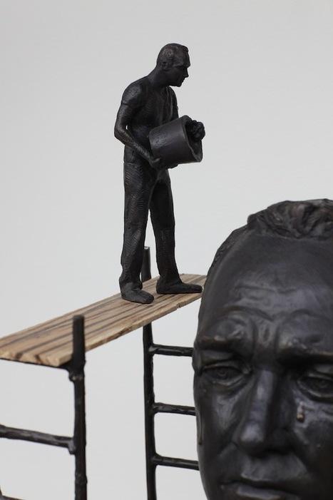 Surreal Bronze Sculptures Reflect Heavy Human Emotions | Culture and Fun - Art | Scoop.it