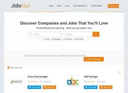 7 Job Board WordPress Themes For Online Job Portal | WordPress Themes | Scoop.it