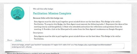 Announcing New Ways to Use Badges @P2PU | Peer to Peer ... | Badges for Lifelong Learning | Scoop.it