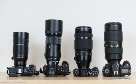 Mirrorless Super Telephoto Comparison Leica, Fuji, Nikon, Olympus | Mirrorless Cameras | Scoop.it