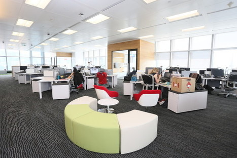 """How LinkedIn's Hong Kong office encourages staff to """"think big"""" [PHOTOS]   Workplace Strategy   Scoop.it"""