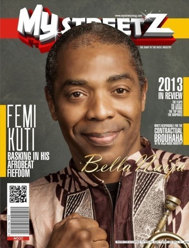 Afrobeat Star Femi Kuti Nominated for 2014 Grammy Awards | Covers the New Issue of Mystreetz Magazine | Bella Naija | Different Genres in the Grammy Awards | Scoop.it