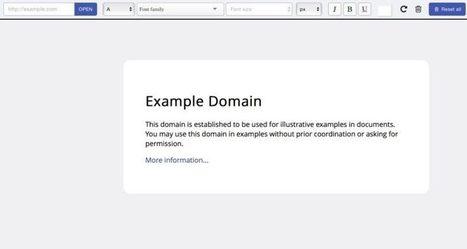 Font Fit. Tester des polices différentes sur un site – Best Outils   Office Online est désormais disponible sur le Chrome Web Store   Scoop.it