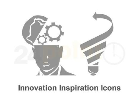 Innovation Inspiration Icons   Presentations 2.0   Scoop.it