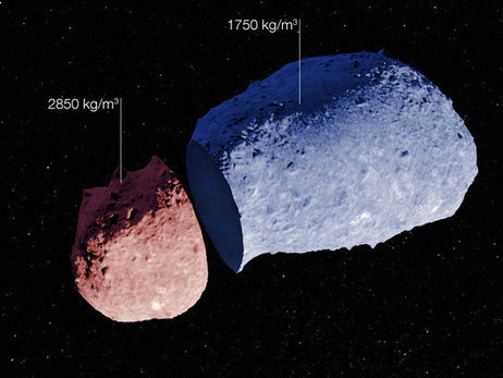 The First Evidence that Asteroids Can Have a Highly Varied Internal Structure | Geology | Scoop.it