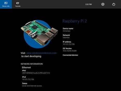 Windows 10 on the Raspberry Pi: What you need to know - TechRepublic | Raspberry Pi | Scoop.it