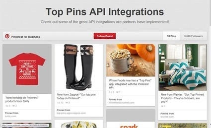 Display Popular Pins on Your Website? Let Pinners Pin There? | Pinterest for Business | Scoop.it