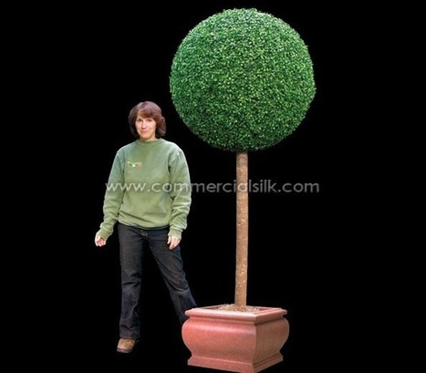 Artificial Boxwood Topiary Ball 7' | Home Improvement - Landscaping | Scoop.it