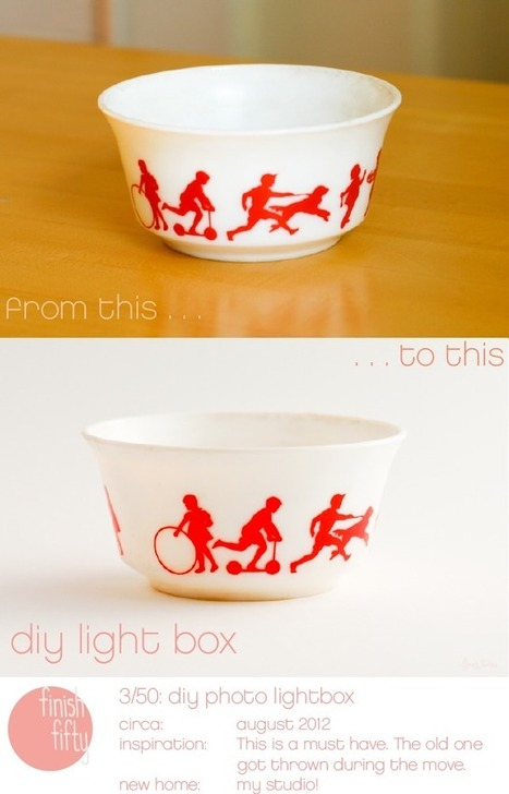 flax & twine: DIY Photo Light Box - A Finish Fifty Project | Photogeekery | Scoop.it