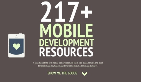 217+ Ultimate Mobile App Development Resources Guide - Joppar | iOS development | Scoop.it